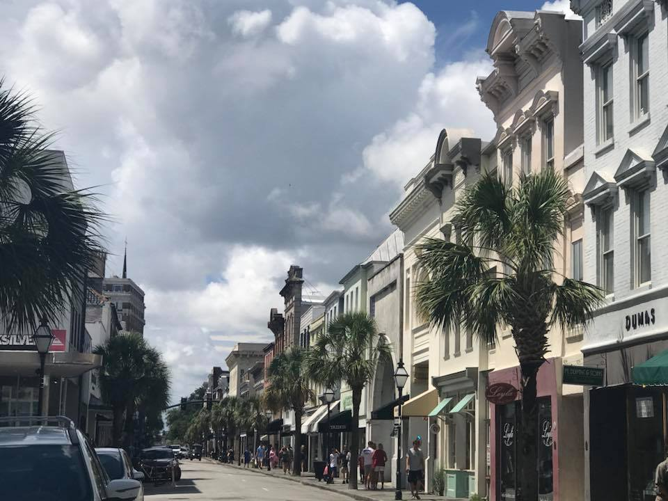 Charleston shopping street