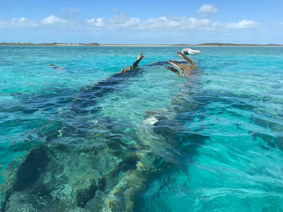 Plane wreck - Normans Cay