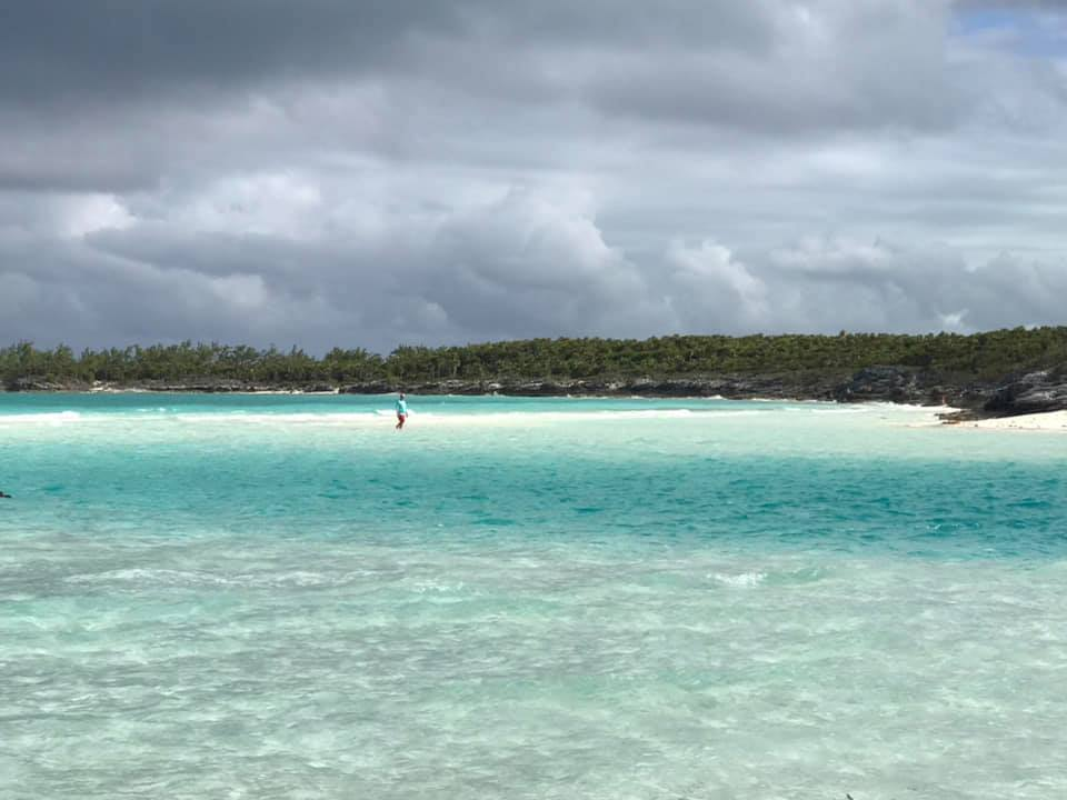Incoming squall - Shroud Cay