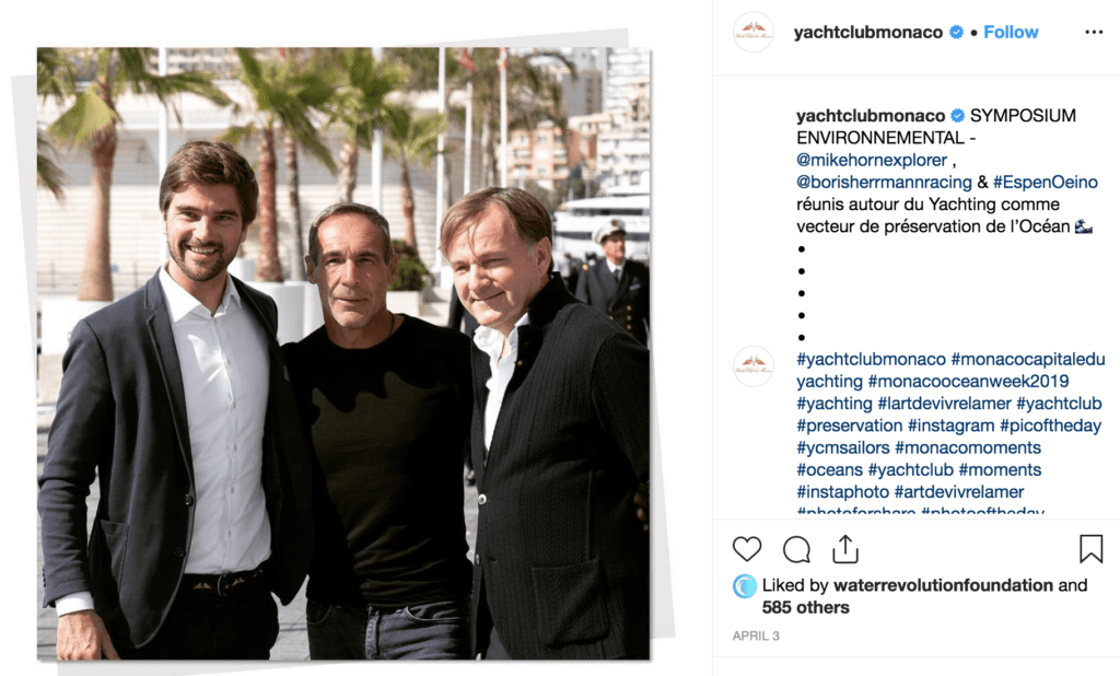 Yacht Club de Monaco - Environmental Symposium - IG