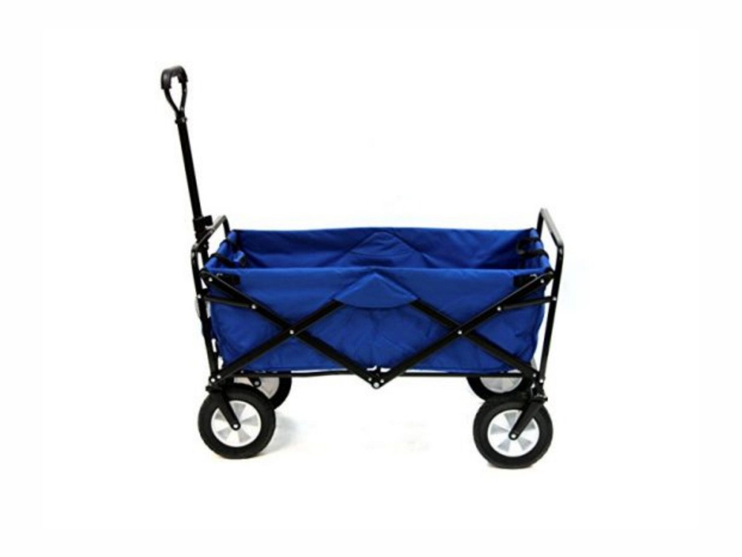 Example of a foldable dock cart