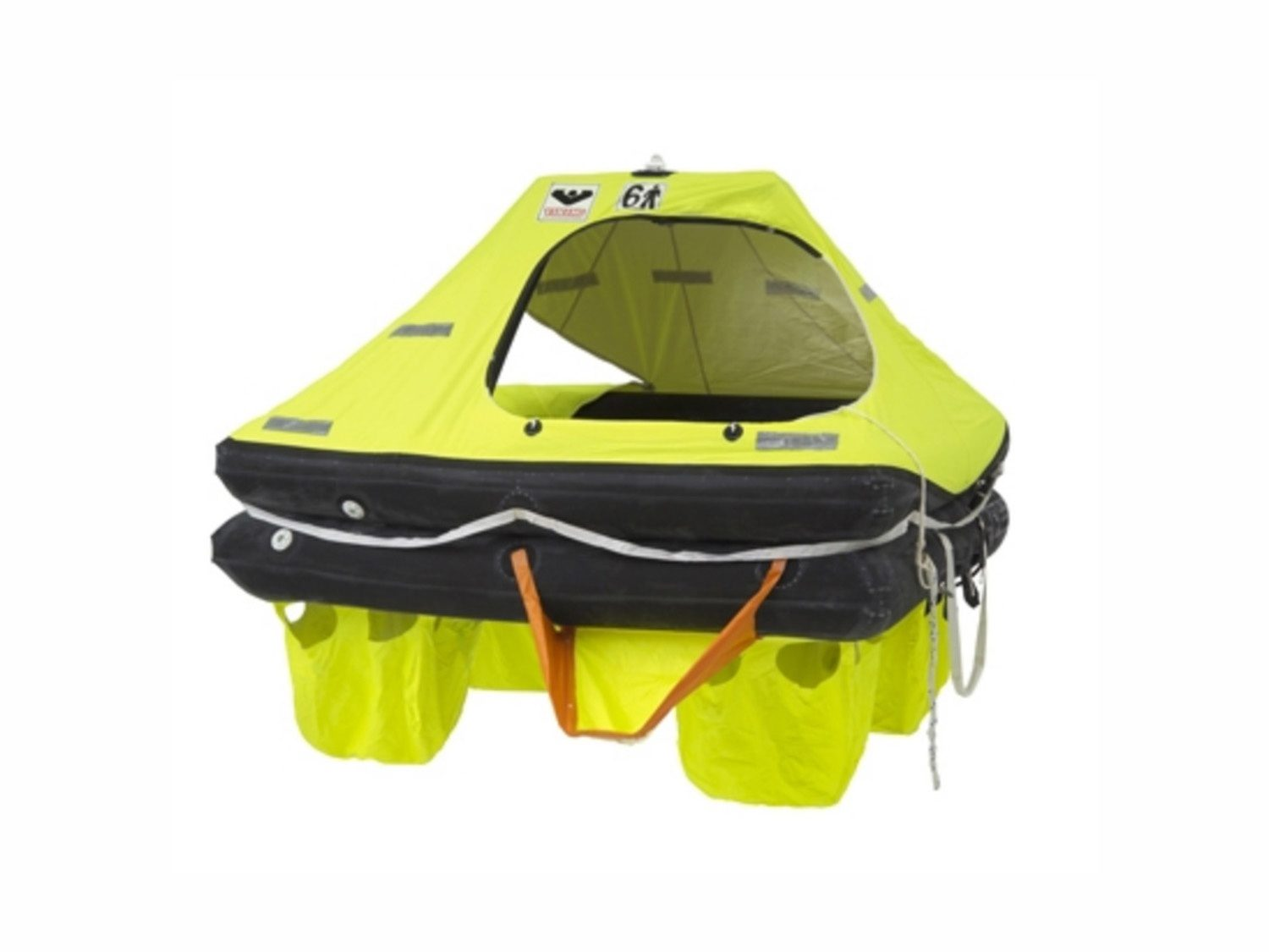 Example of a life raft