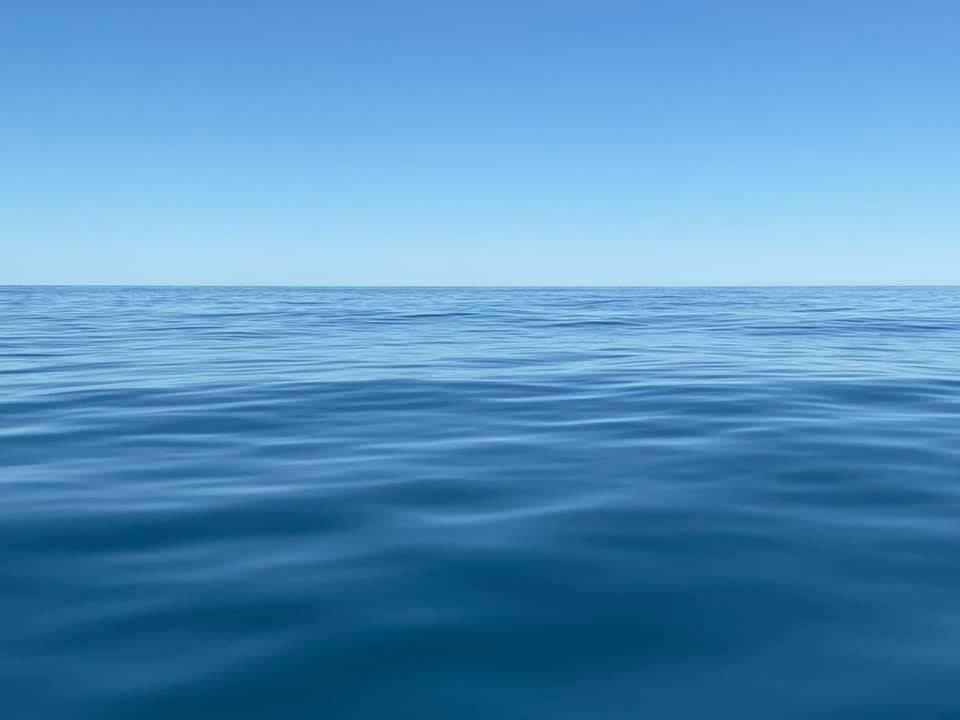 Smooth ocean conditions