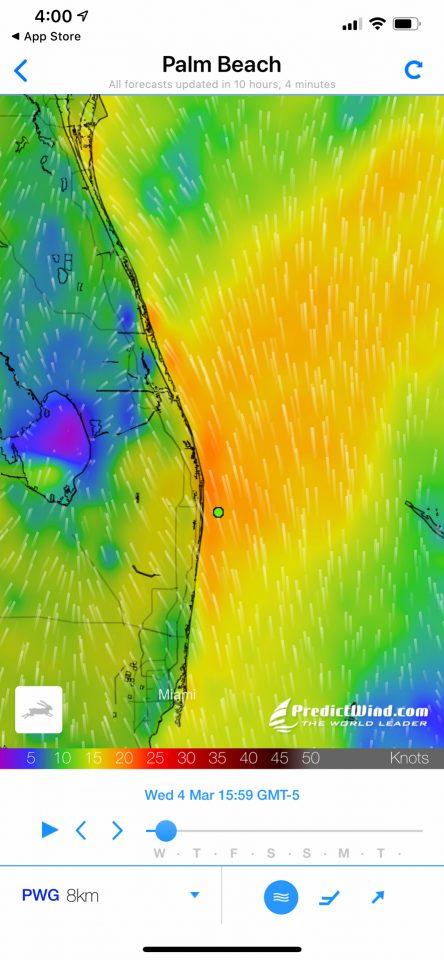 Predict Wind App