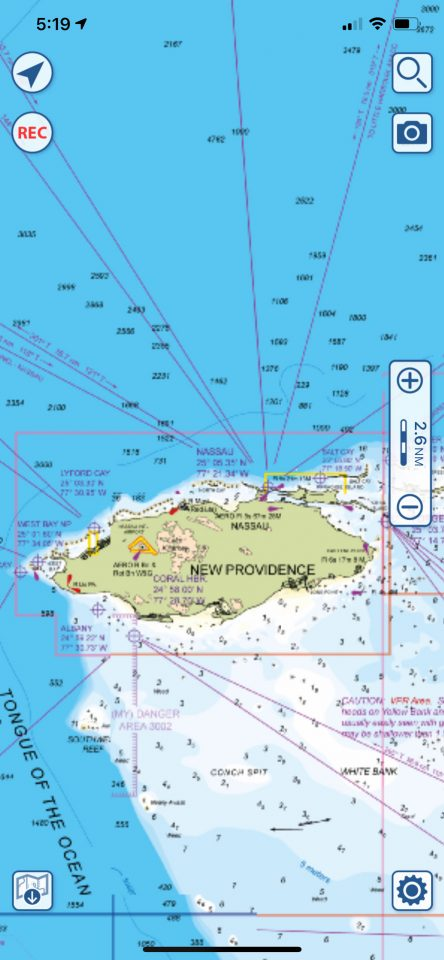 Aquamaps New Providence