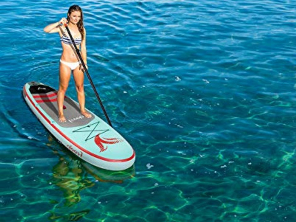 Inflatable Stand Up Paddle Board - Photo: www.amazon.com