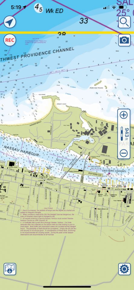 Aquamaps New Providence, Atlantis detail