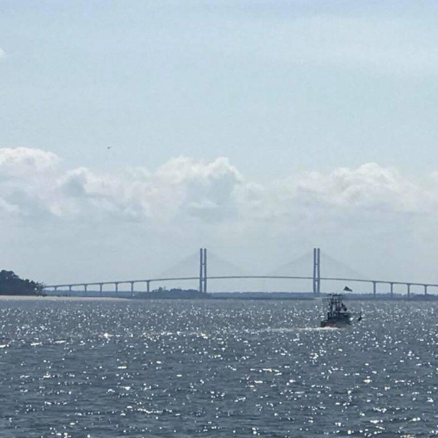SS2 - Bridge between St Simons and Jekyll Islands