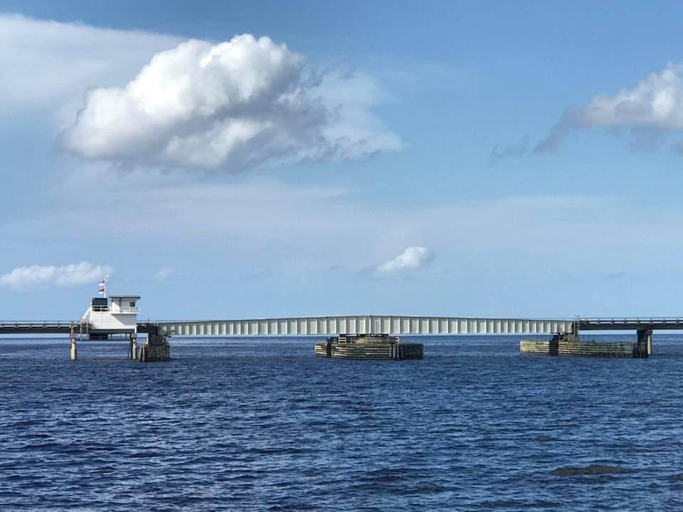 Route 1 - The Alligator Swing Bridge