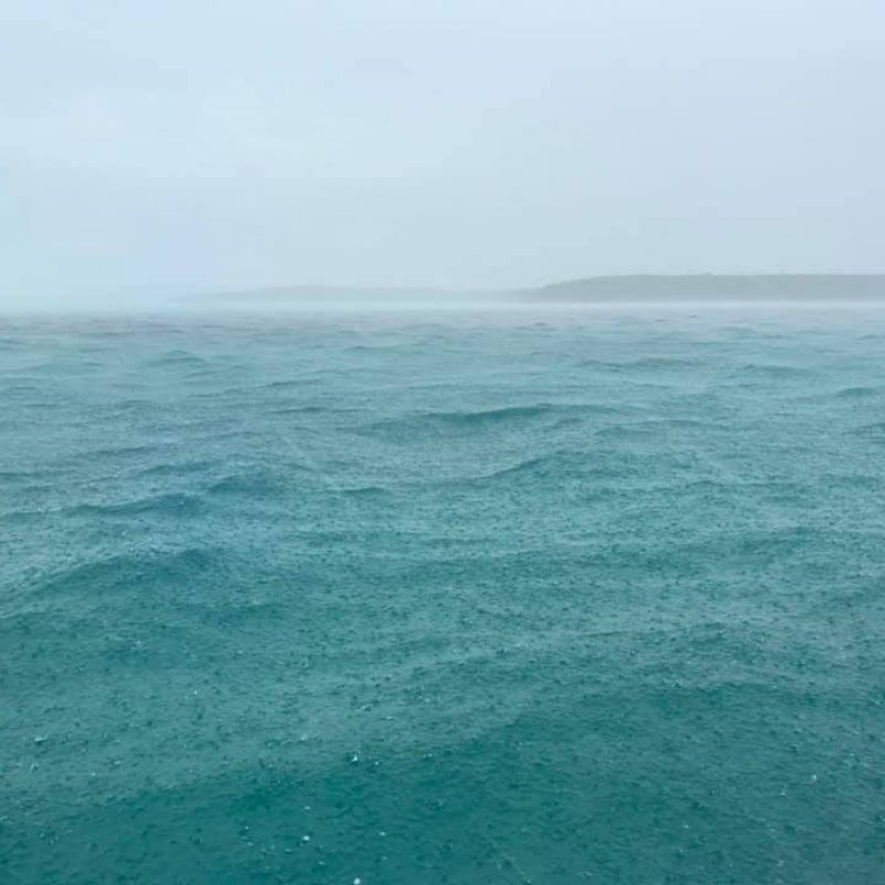 Weather coming in - Berry Islands