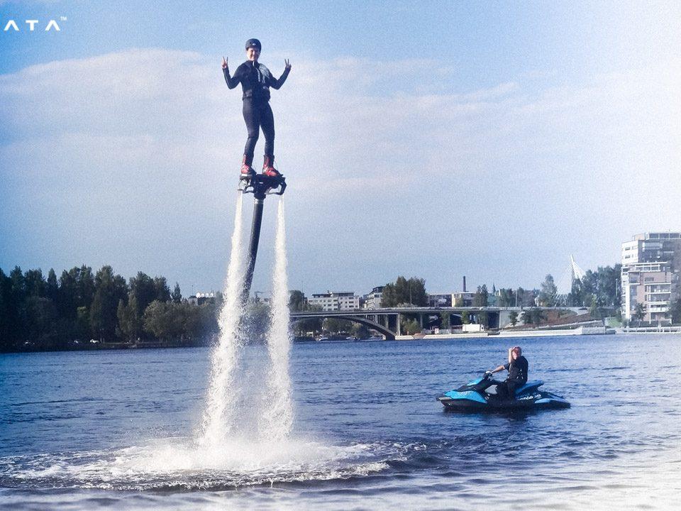 Flyboard - Photo: www.zapata.com