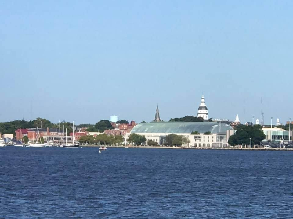 Annapolis and Naval Academy view