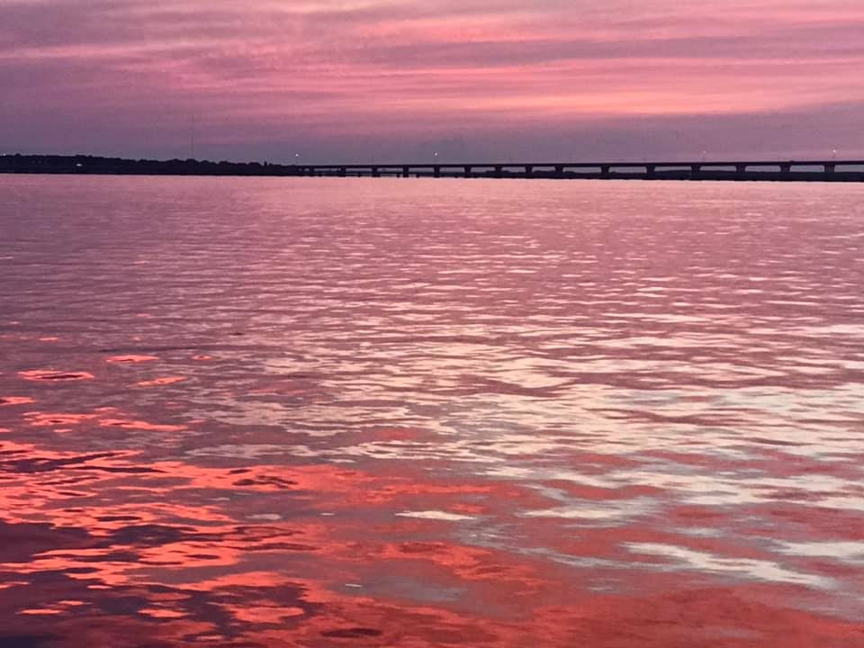 Cambridge sunset