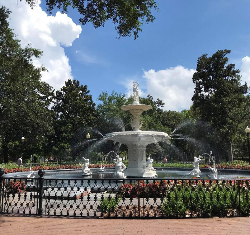 Savannah - Park Fountain MITGOGAE