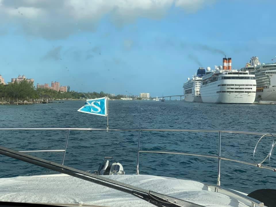 Arriving at Atlantis