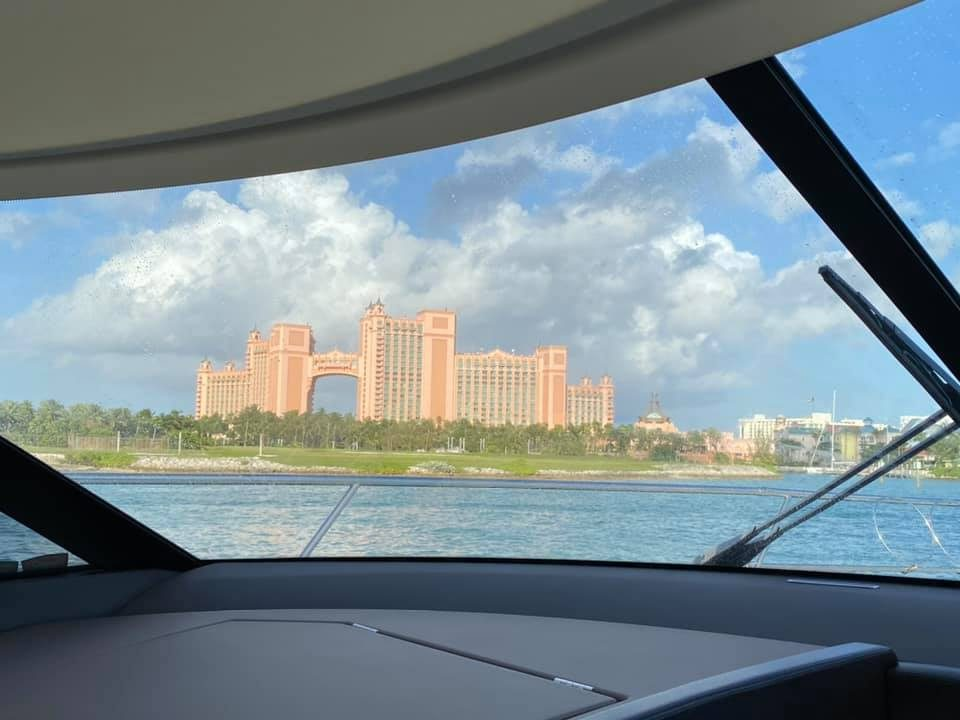 Arriving at Atlantis