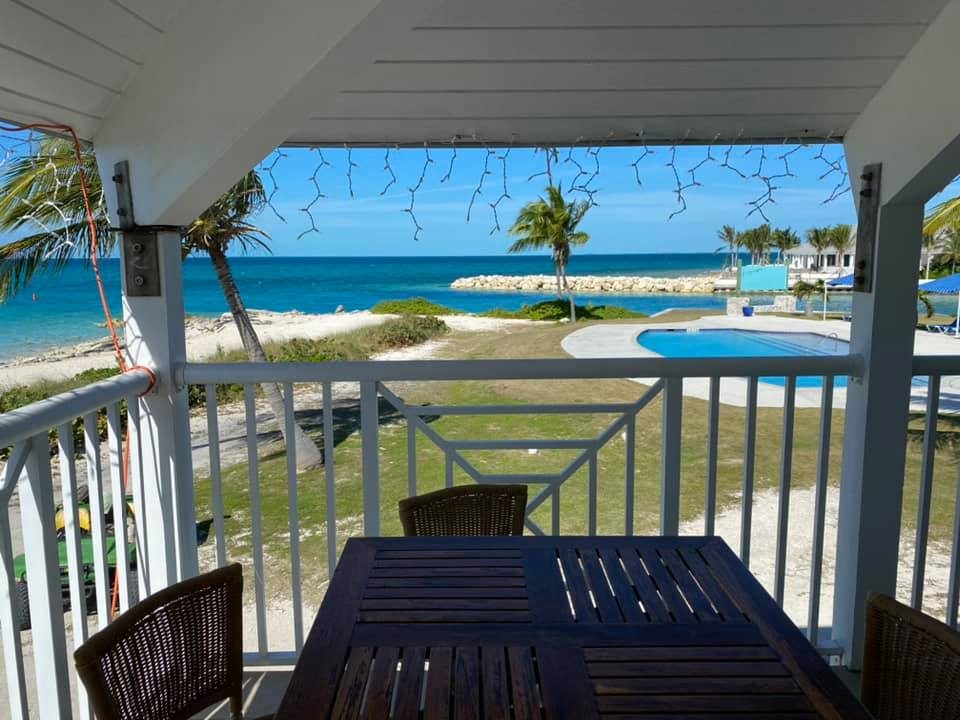 Cape Eleuthera lunch view