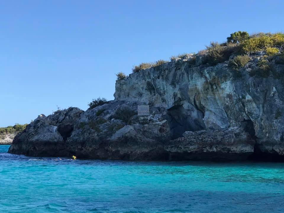 Staniel Cay Thunderball Grotto
