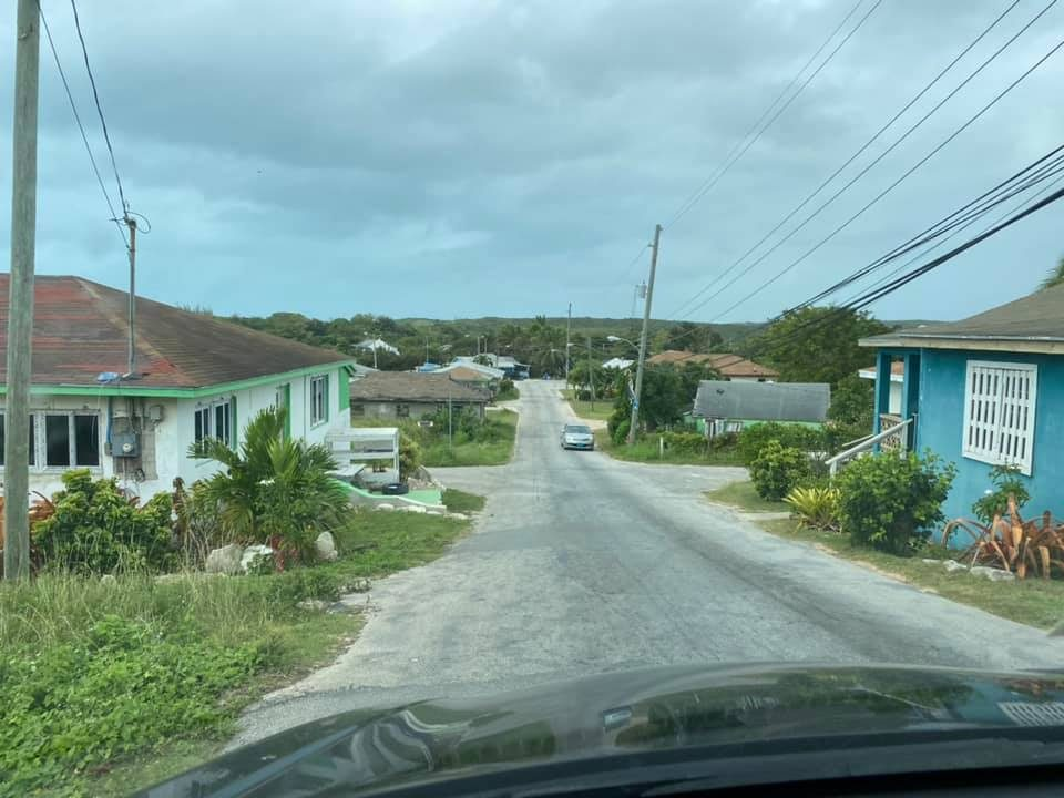 Driving around the island