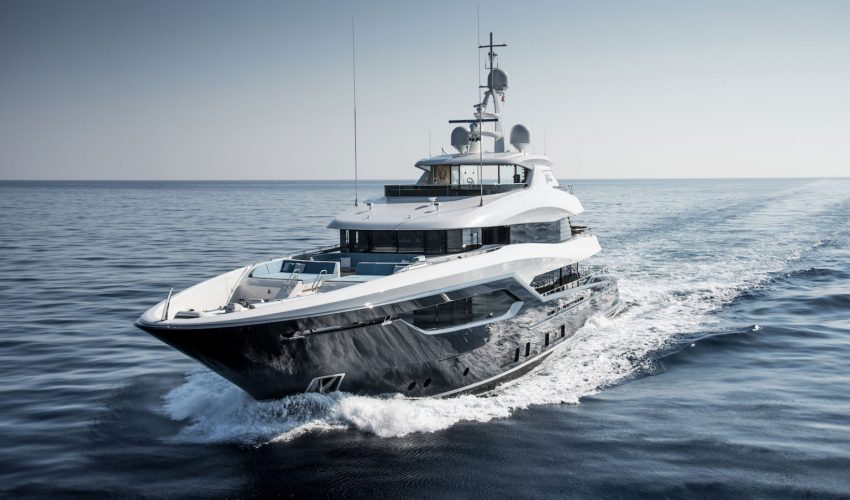 Winner Displacement Motor Yachts between 300GT and 499GT - 30m to 47.9m - M/Y Viatoris ©Conrad Shipyard