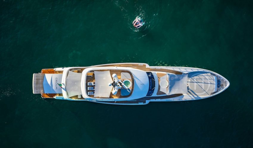 Winner Displacement Motor Yachts between 300GT and 499GT - 40m and above - M/Y Cecilia Source: Boat International
