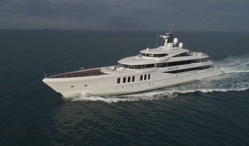 Winner Displacement Motor Yachts between 500GT and 1,999GT - M/Y Spectre Source: Boat International