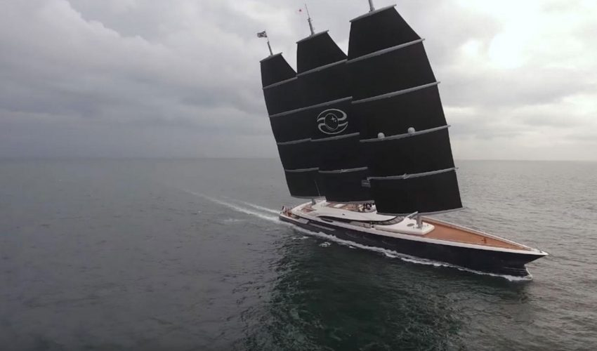 Winner Sailing Yacht of the Year - S/Y Black Pearl  Source: Boat International