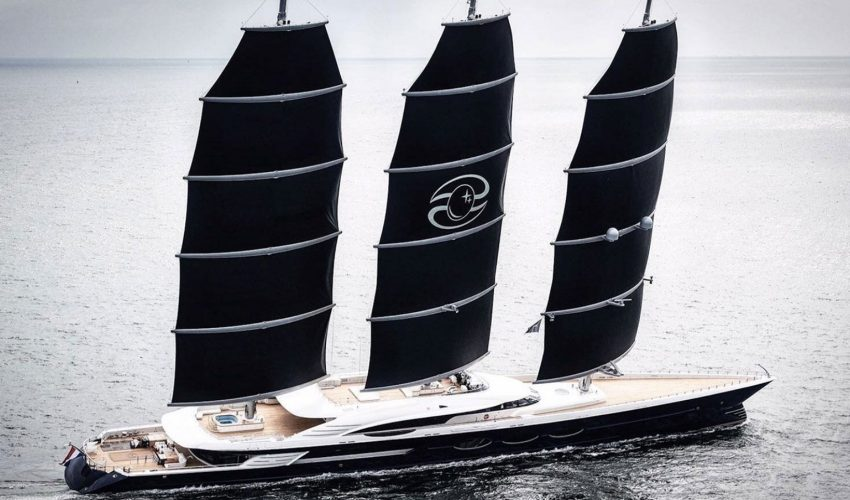 Winner Sailing Yachts 60m and above - S/Y Black Pearl  Courtesy Oceanco