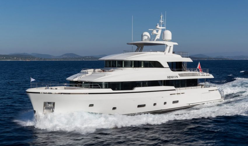 Winner Semi-Displacement or Planing Motor Yachts 33m to 39.9m - M/Y Brigadoon  Courtesy Moonen Yachts