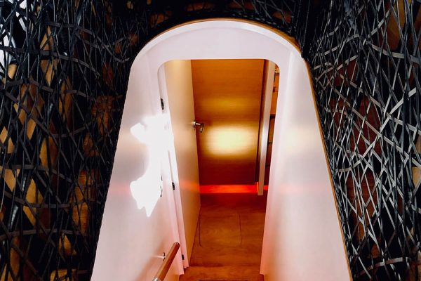 Staircase to Master Stateroom