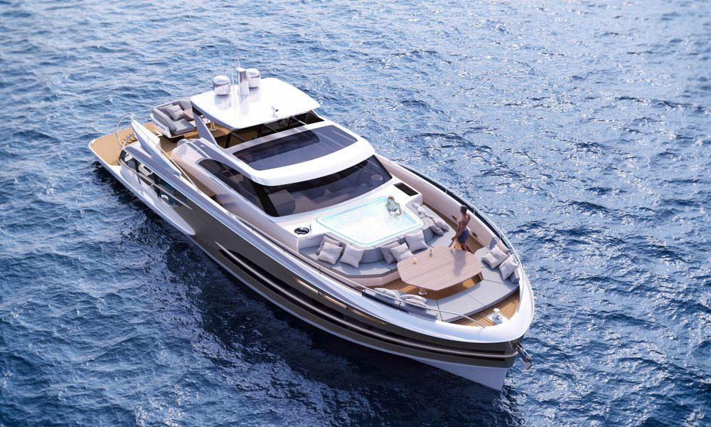 VAN DER VALK BeachClub 600 - Front deck option F jacuzzi